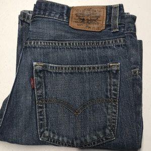 LEVI's 527 Boot Cut Blue Jeans 29 x 29